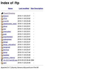 ftp.axoft.com screenshot