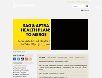 Thumbshot of Sagaftra.org