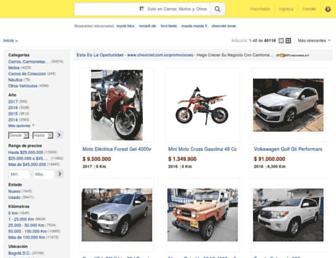 vehiculos.mercadolibre.com.co screenshot