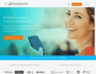 Thumbshot of Newsletter2go.com