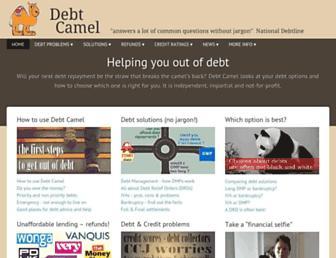 debtcamel.co.uk screenshot
