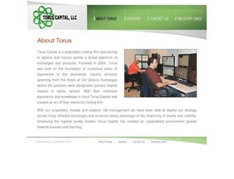 toruscapital.com screenshot