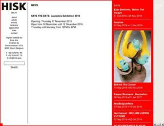 hisk.edu screenshot