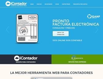 icontador.cl screenshot