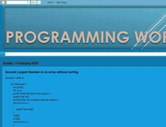 programmingworld236.blogspot.com screenshot
