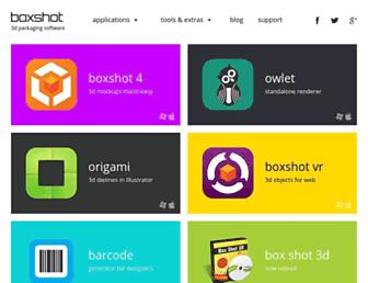 boxshot.com screenshot