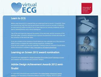 ecg.glam.ac.uk screenshot
