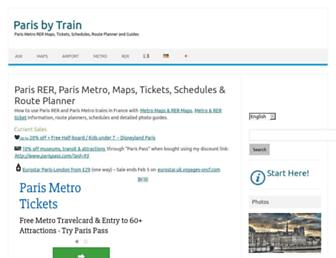 Thumbshot of Parisbytrain.com