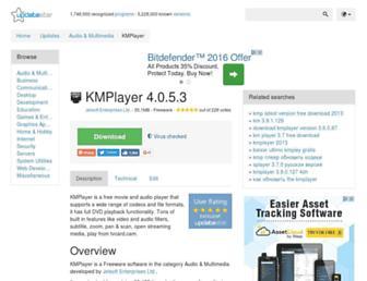 kmplayer.updatestar.com screenshot