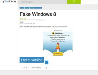 fake-windows-8.en.uptodown.com screenshot