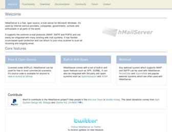 Thumbshot of Hmailserver.com