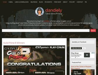 cabaldandiely.blogspot.com screenshot