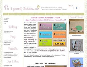 Thumbshot of Do-it-yourself-invitations.com