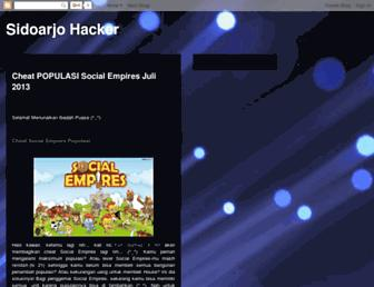 sidoarjohack.blogspot.com screenshot