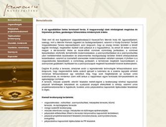 kaveczki.hu screenshot