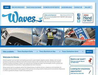 wavescarwash.co.uk screenshot
