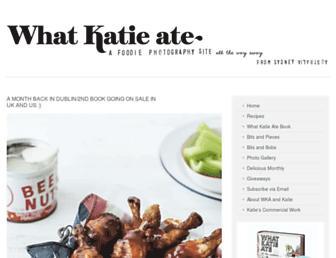 Thumbshot of Whatkatieate.com