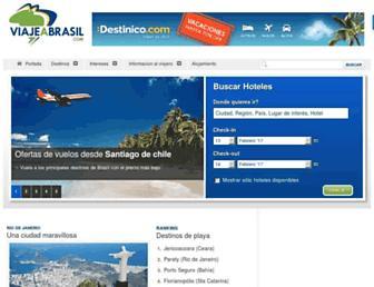 Thumbshot of Viajeabrasil.com