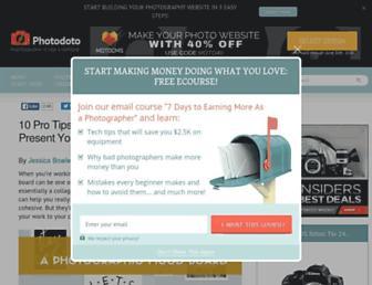 photodoto.com screenshot