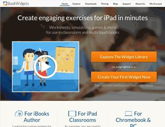 bookwidgets.com screenshot
