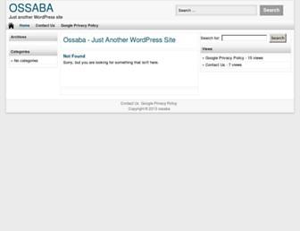 Thumbshot of Ossaba.com