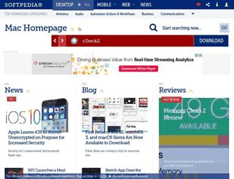 mac.softpedia.com screenshot
