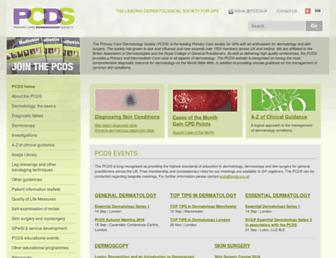 pcds.org.uk screenshot