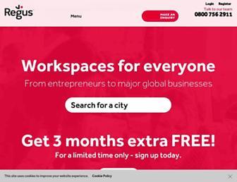 Thumbshot of Regus.co.uk