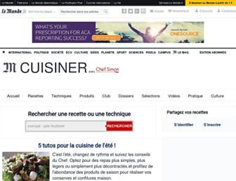 chefsimon.lemonde.fr screenshot