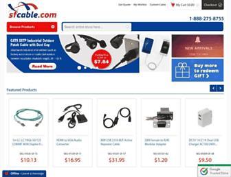 sfcable.com screenshot