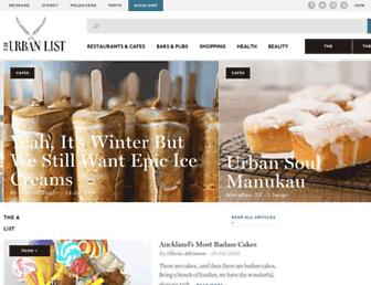 theurbanlist.com screenshot