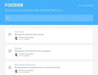 help.cheqroom.com screenshot