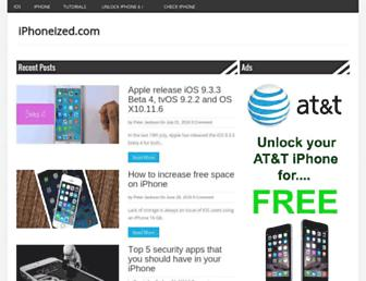 iphoneized.com screenshot