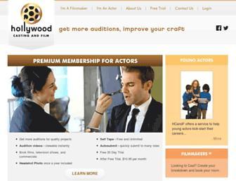 hollywoodcastingandfilm.com screenshot