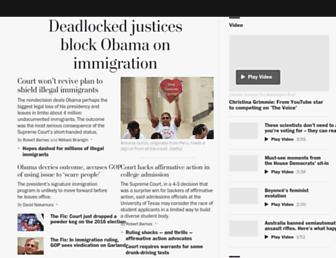 Thumbshot of Washingtonpost.com