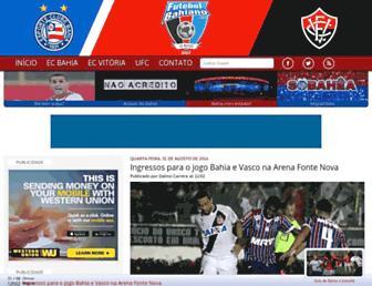 futebolbahiano.org screenshot