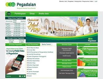 pegadaian.co.id screenshot