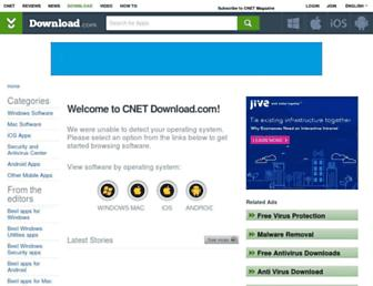 download.cnet.com screenshot