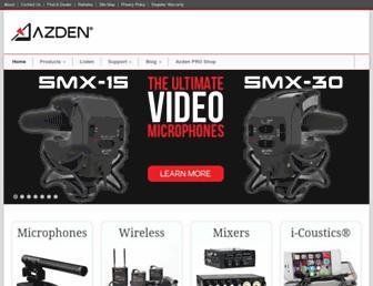 azdencorp.com screenshot