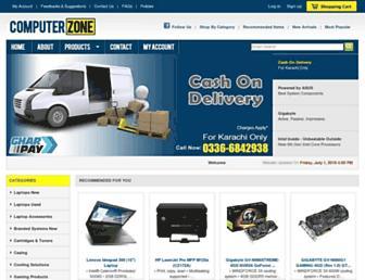 Thumbshot of Czone.com.pk