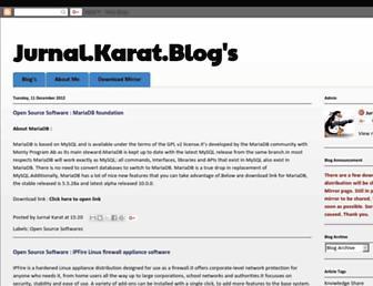 jurnarlkarat.blogspot.com screenshot