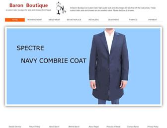 Thumbshot of Baronboutique.com