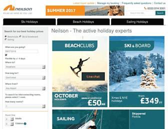 Thumbshot of Neilson.co.uk