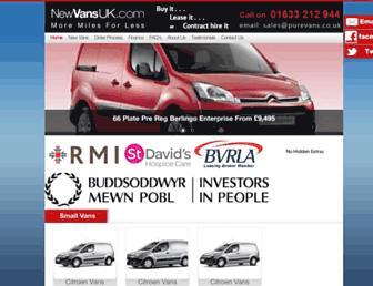 newvansuk.com screenshot