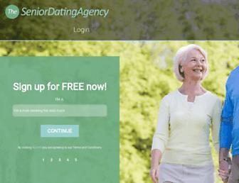 Thumbshot of Seniordatingagency-uk.co.uk