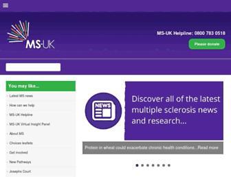 ms-uk.org screenshot