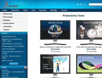 anuko.com screenshot