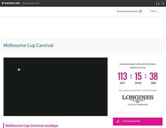 Thumbshot of Melbournecup.com