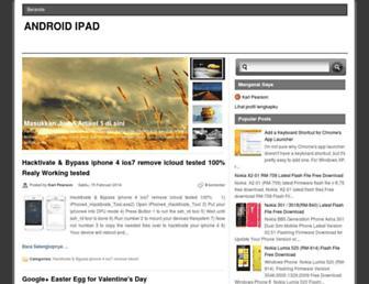 androidipad4.blogspot.com screenshot
