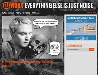 djworx.com screenshot